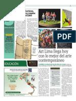 Art Lima Llega Hoy Con Lo Mejor Del Arte Contemporáneo