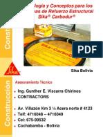 Refuerzo Estructura Sika Carbodur GEVC