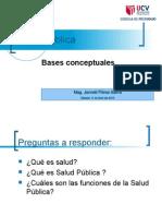 SESION I  BASES CONCEPTUALES DE LA SALUD PUBLICA.ppt