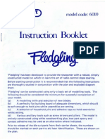 Kit - CalderCraft - Fledgling - Instructions