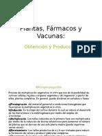 Plantas, Fármacos y Vacunas