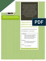 Mejoramiento de Uso Alternativo de Lodos en Planta de Tratamienco CMPC_2014