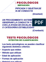 4. Tests Psicológicos