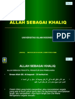 6. Allah Sbg Khaliq