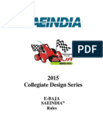 2015 ebaja sae india rulebook