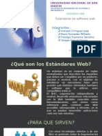 Estandares de Software Web