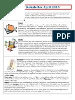 Year 3 Newsletter Summer 1 2015