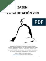 Zazen La Meditacion Zen