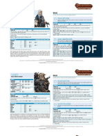 Pathfinder ACG - RotR - Sheets
