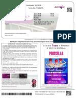 Tickets Renfe Madrid