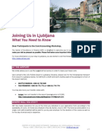 Useful Information About Ljubljana