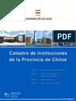 Catastro de Instituciones