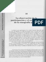 La Observación de La Participación y El Surgimiento de La Etnografía Pública. Texto#1 Vol. III
