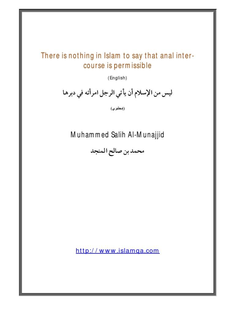 Miksi Anal Sex Haram islamissa