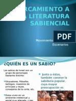 ACERCAMIENTO A LA LITERATURA SABIENCIAL.pptx