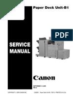 Paper Deck Unit-B1 SM Rev0 091409