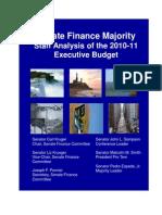 Senate Finance 2010 Blue Book