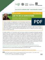 Las TIC y La Agricultura en El Contexto Del Crecimiento Verde