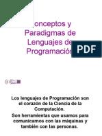 Introducción a conceptos y paradigmas de lenguajes de programación