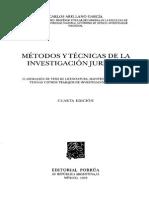 METODOS Y TECNICAS DE LA INVESTIGACION JURIDICA.pdf