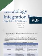 week 7 - technology integration plan