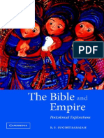 The Bible and Empire Postcolonial Explorations