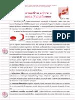 Informativo Anemia Falciforme