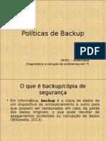 PSI - 10-Politicas de Backup