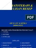 DERMATOTERAPI & PENULISAN RESEP