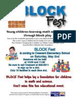 crescent blockfest flyer