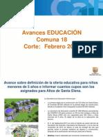 Educacion Comuna 18 Alcaldia en Tu Barrio Definitiva