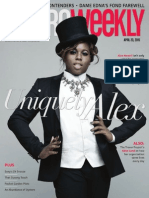 Metro Weekly - 04-23-15 - Alex Newell and the Trevor Project