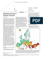 Mapping Europe Seismic Hazard