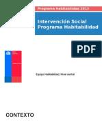 Intervención Social Habitabilidad