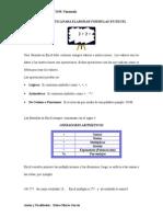 Guía Práctica Para Elaborar Fórmulas en Excel