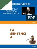 LA SENTENCIA Y LOS MEDIOS IMPUGNATORIOS.pptx
