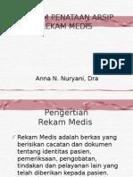 Sistem Penataan Arsip Rekam Medis
