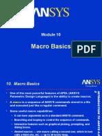 Ansys Macro Basics
