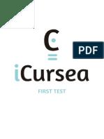 Icursea First Test