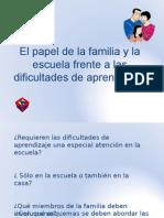 La Familia y La Escuela en Las Da