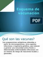 Esquema de Vacunación 2014