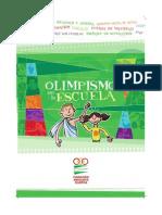 Comic Olimpismo 2014.15