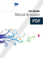 Manual Del Usuario Samsung Galaxy S3 GT-I9300
