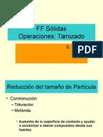 2 operaciones Tamizado