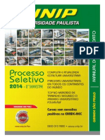 Manual Do Candidato - Grande São Paulo - Universidade Paulista - UNIP