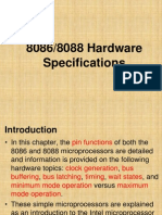 8086 Hardware Specification