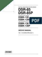 SONY DSR 85/85P sm Vol-1