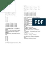 Orinoco Flow Lyrics