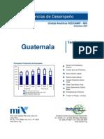 Benchmarking de las Microfinanzas en Guatemala 2004-2006