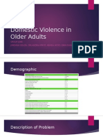 domestic violence in older adults